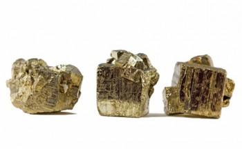 Pyrit glänzt wie Gold, ist aber keines